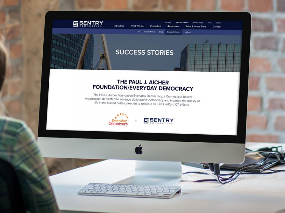 sentry commercial cre content marketing.
