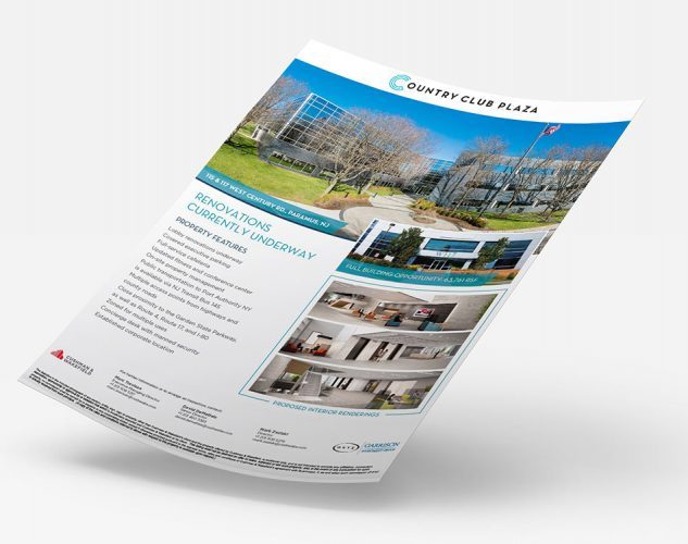Country Club Paramus CRE Property Flyer.