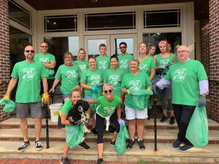 pick it up red bank townwide clean sweep splendor and red bank business alliance
