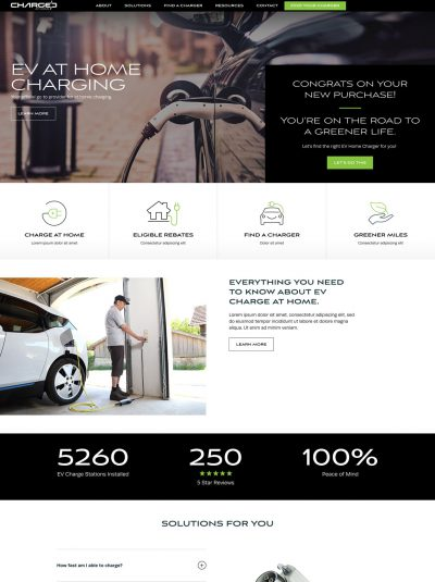 charged at home ecommerce site